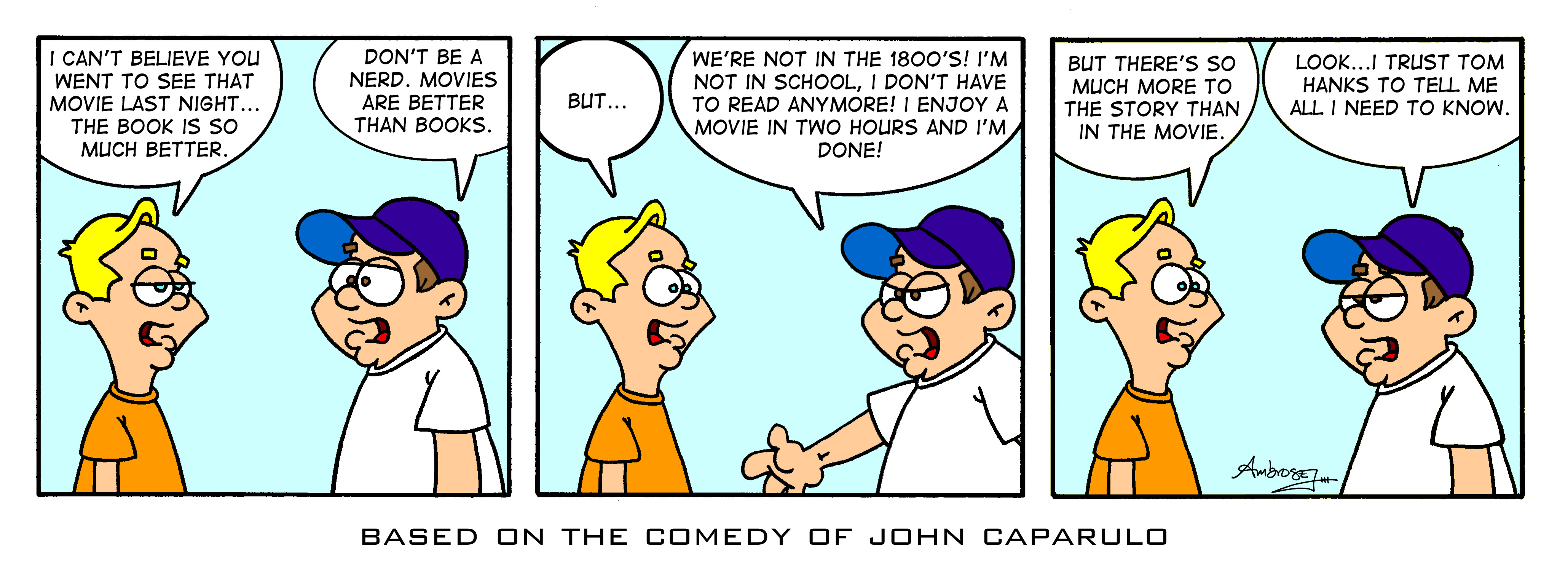 John Caparulo Comic Strip