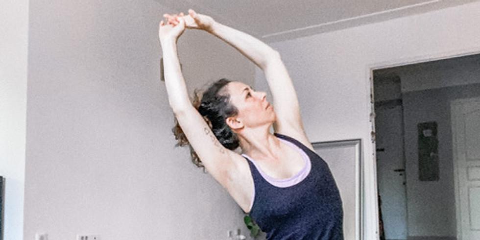 Atelier yoga avec Mira