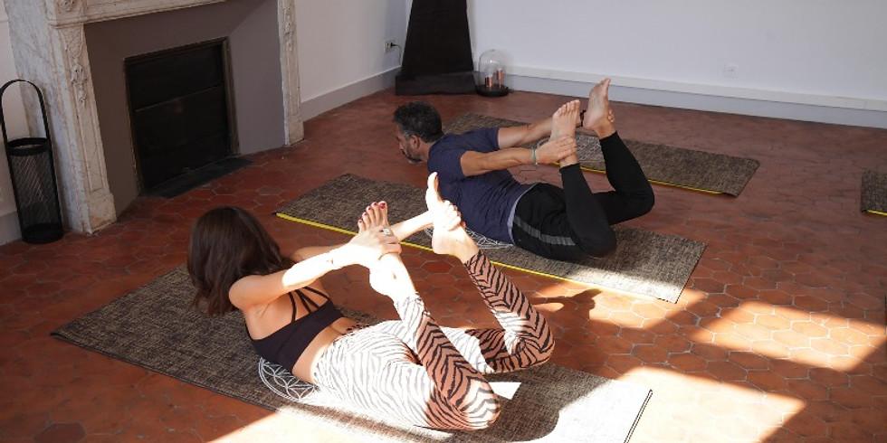 10h30 Cours découverte Pilates Mat