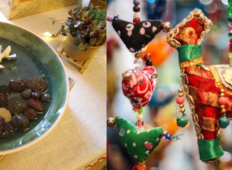 Decoración holística en el Bazar Buena Vibra