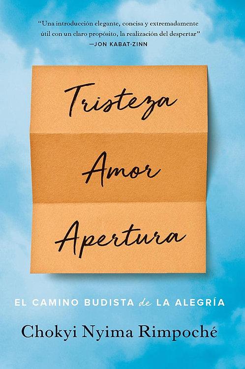 Libro: Tristeza, Amor, Apertura