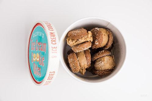 Olivia's Molasses with Coffee Ice Cream Cookie Bites