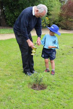 Tree Planting 150th Diocese Celebration