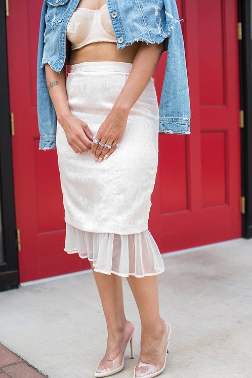 Pink Flamingo Skirt