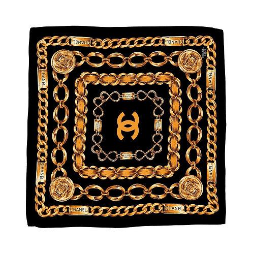 CC vintage silk scarf