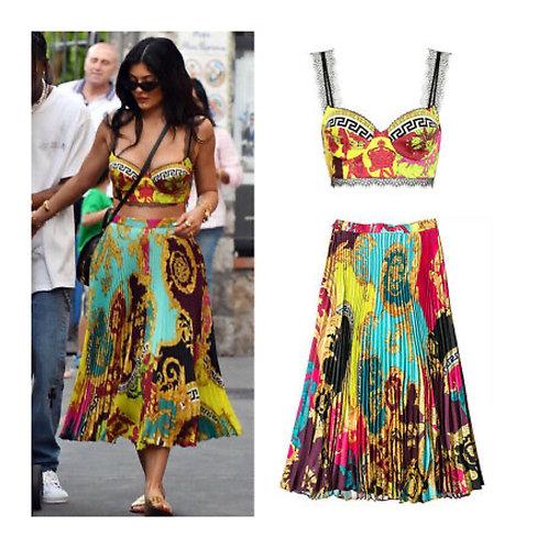 Senorita pleated Skirt