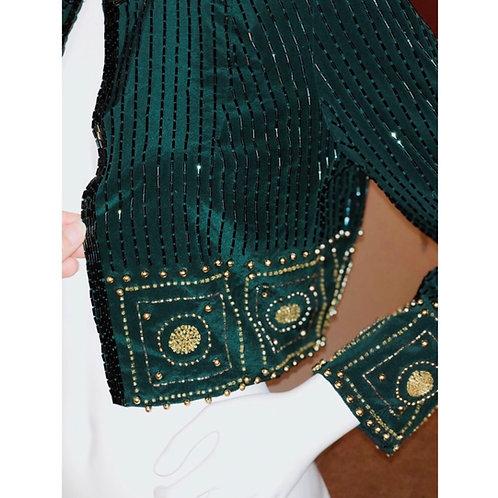 Bolero Style Crop Jacket