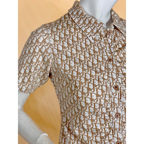 Dior vintage monogram shirt