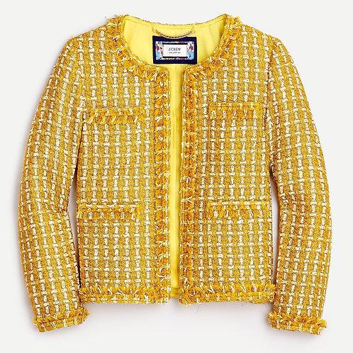 Champagne tweed blazer