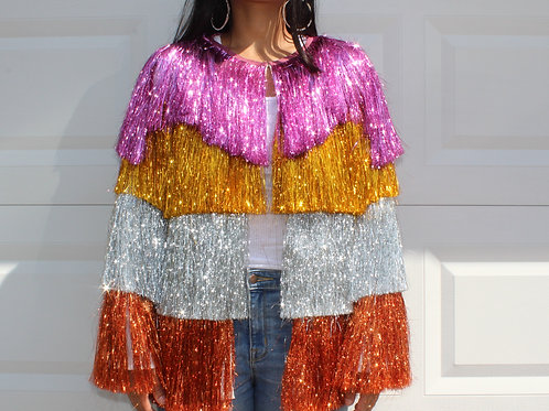 "Multicolor Tassel Jacket ""SOLD OUT"""