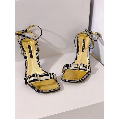 Vintage Ankle Strap Nine West Heels