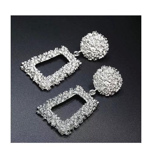 Vintage Style Silver Chandler Earrings