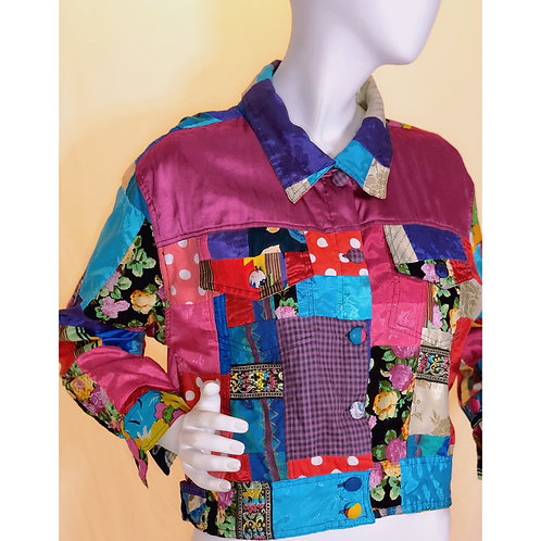 Saved By The Bell Vintage Crop Jacket