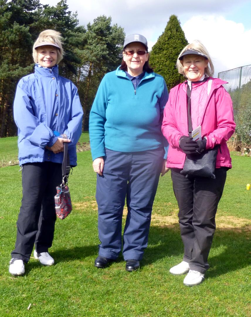 Julie, Doreen & Brigid