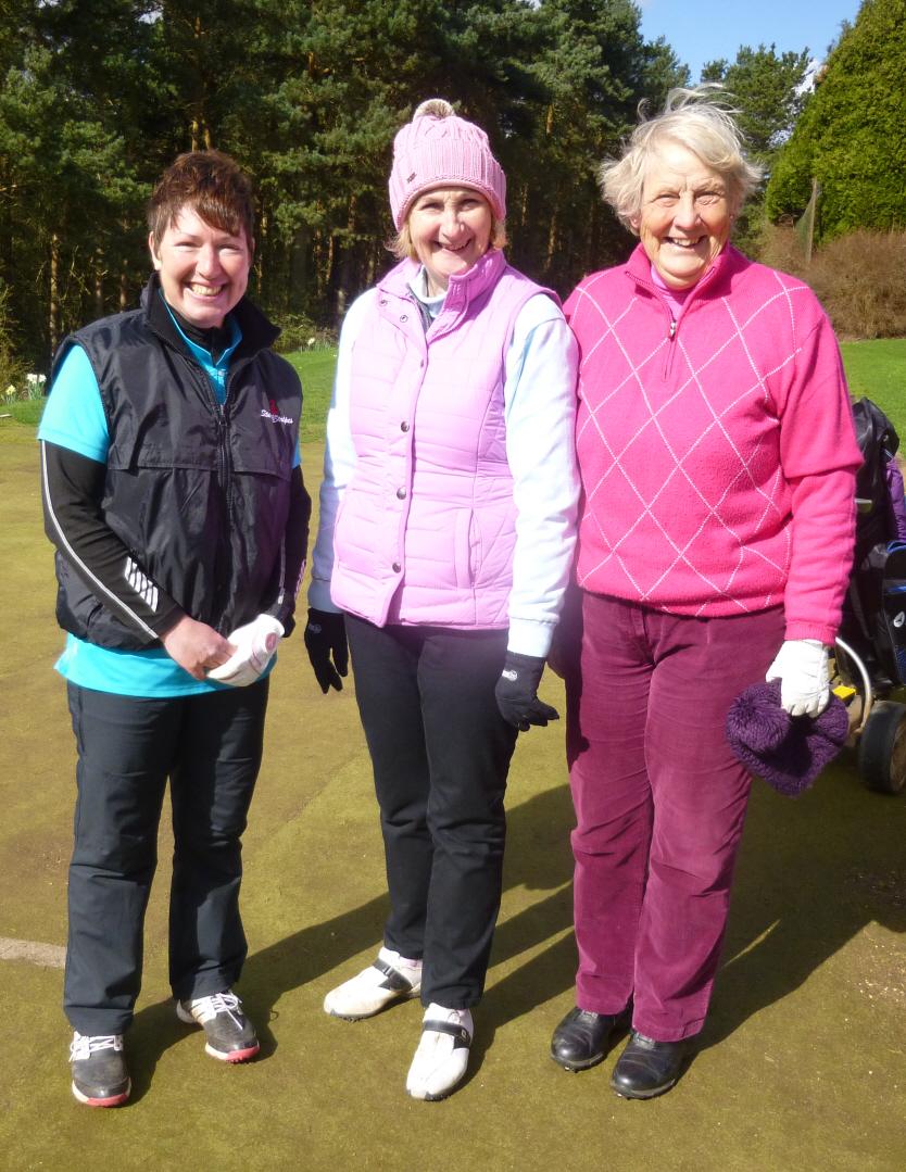 Cath, Angela & Gill