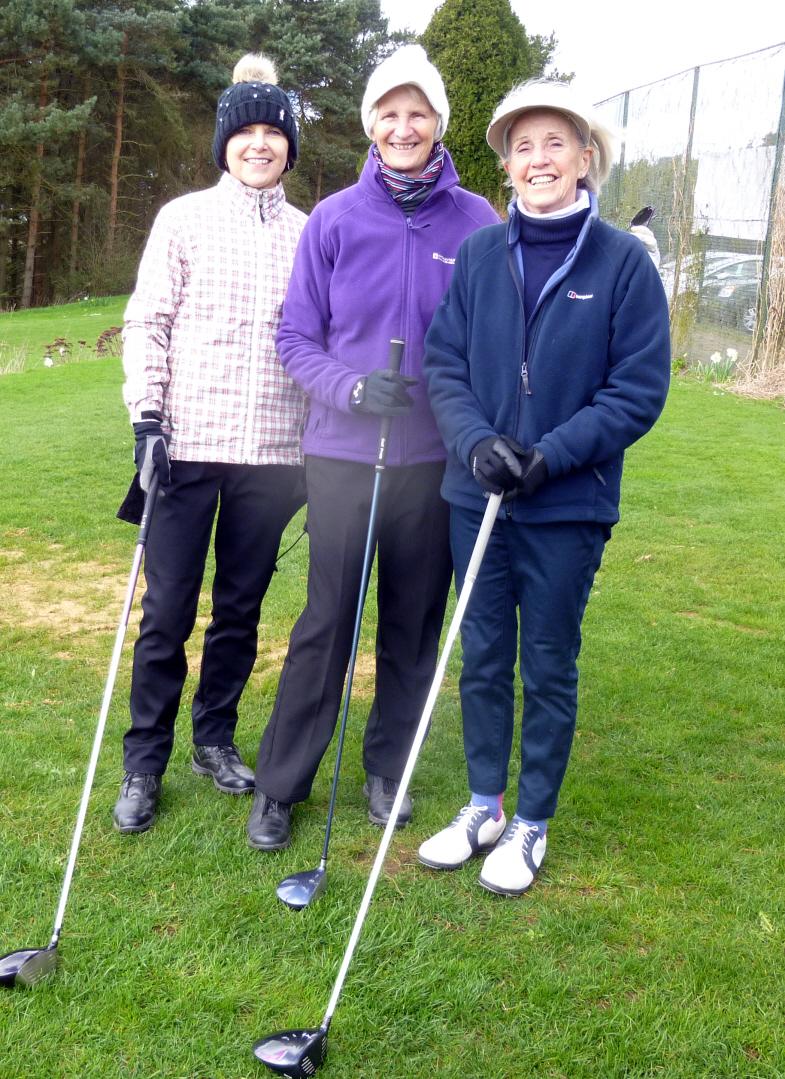 Sue, Myra & Marwyn