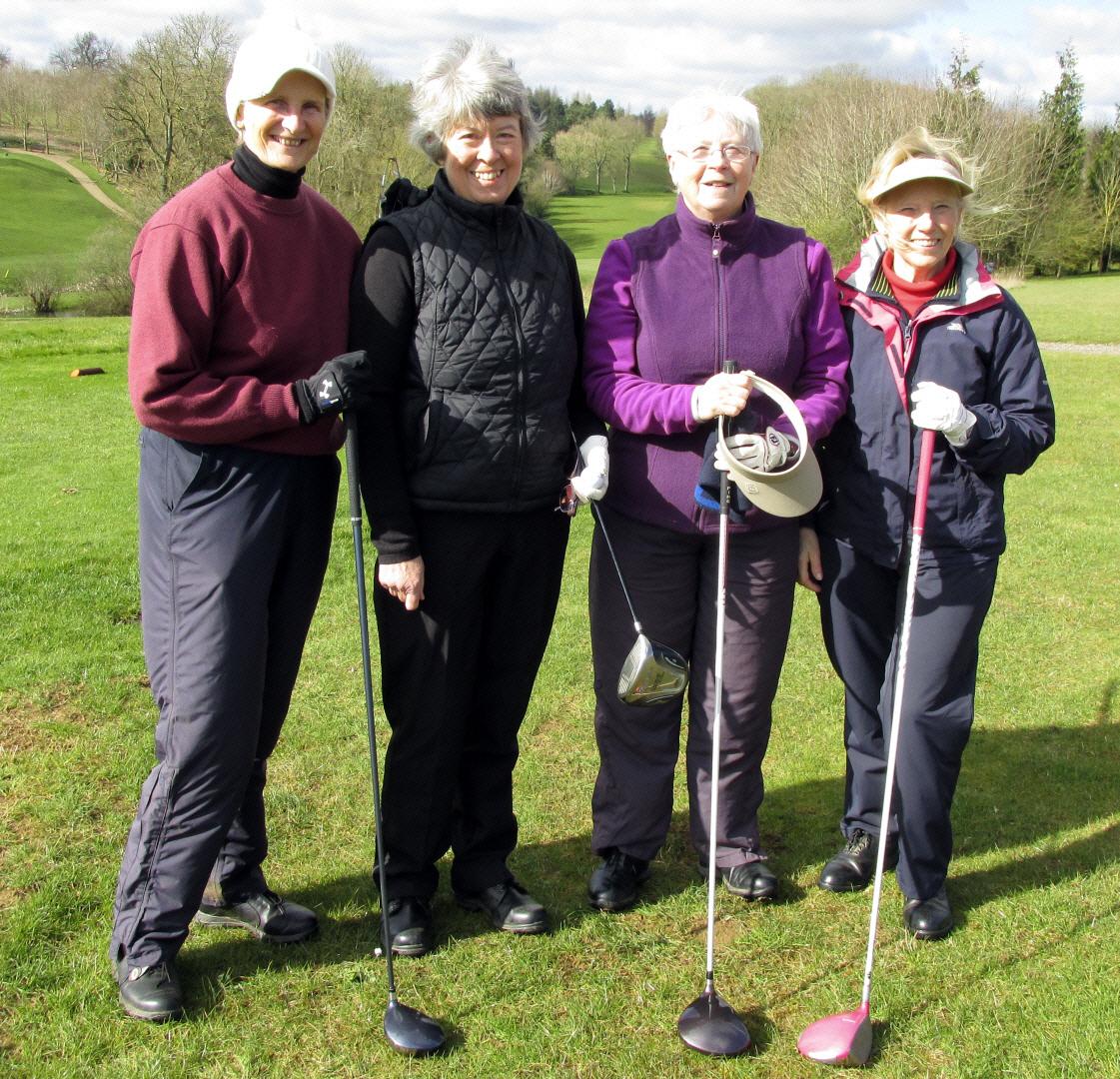4 Myra, Sue, Jenny & Jane