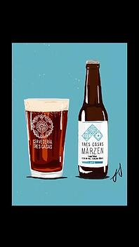 Cerveza Tres Casas Märzen
