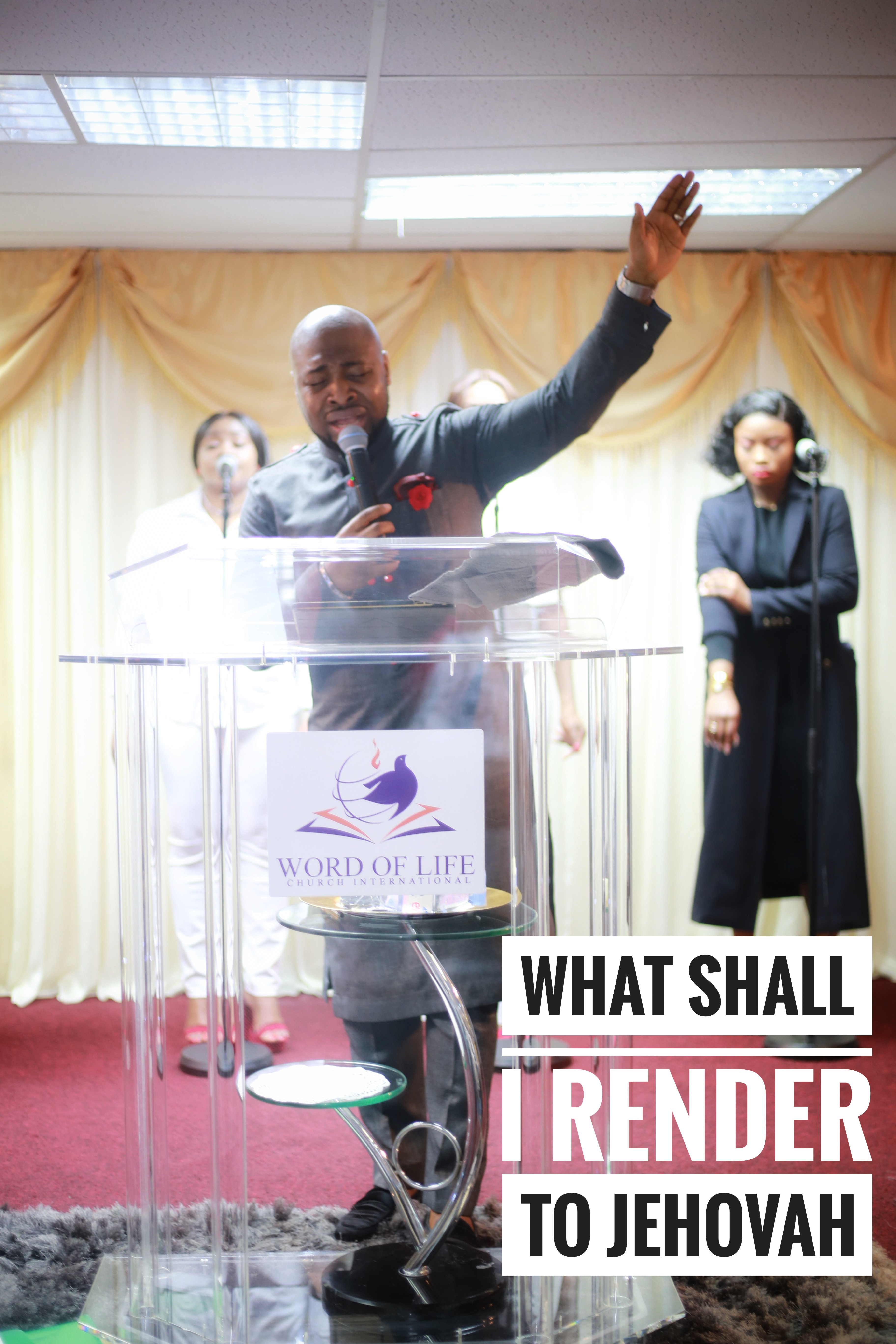 What shall i render to jehovah
