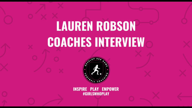 Coaches Interview with Lauren Robson