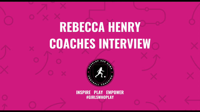 Coaches Interview with Rebecca Henry