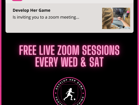 Free Live Zoom Sessions