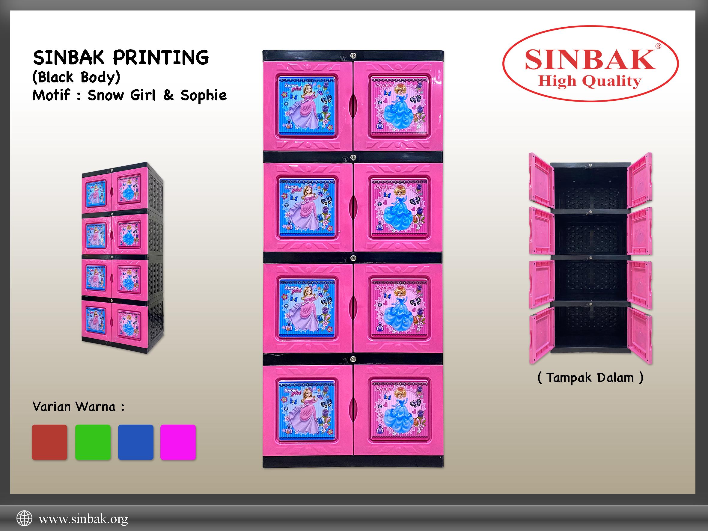 Snow Girl & Sophie (Printing Pink)