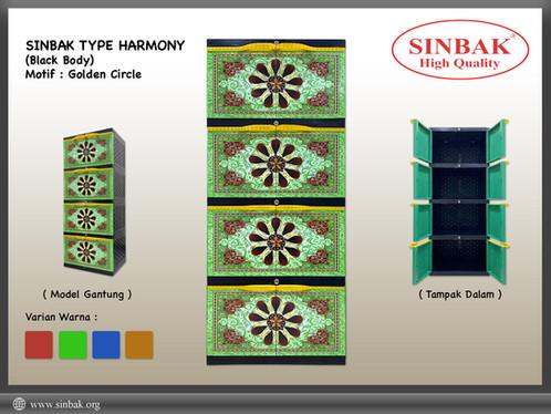 Golden Circle (Harmony Black Hijau)_1.jp