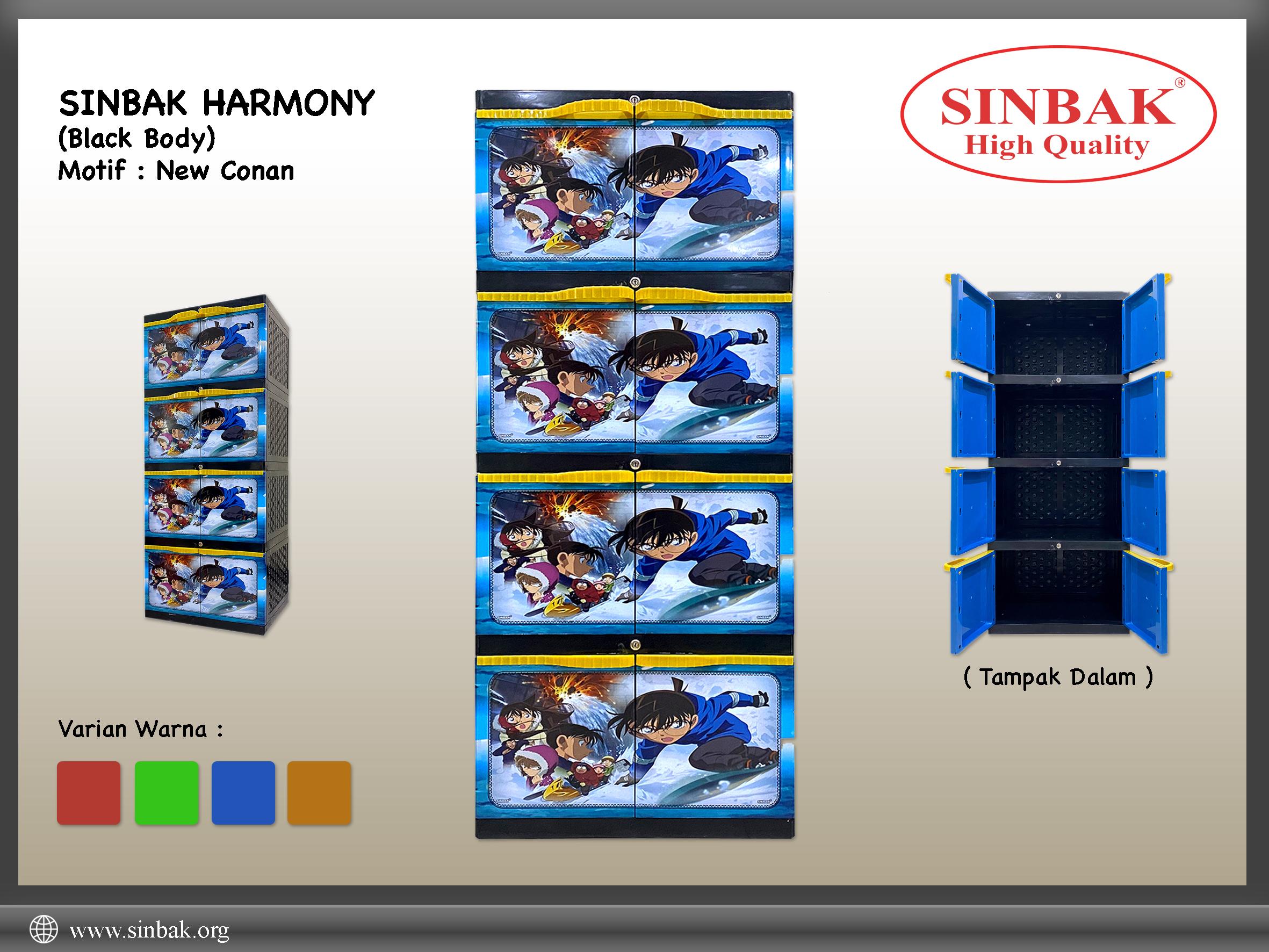 New Conan (Harmony Biru)
