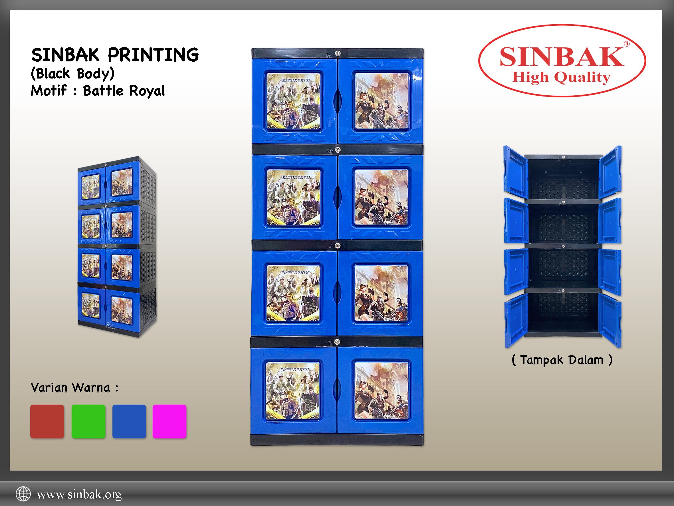 Battle Royal (Printing Biru)