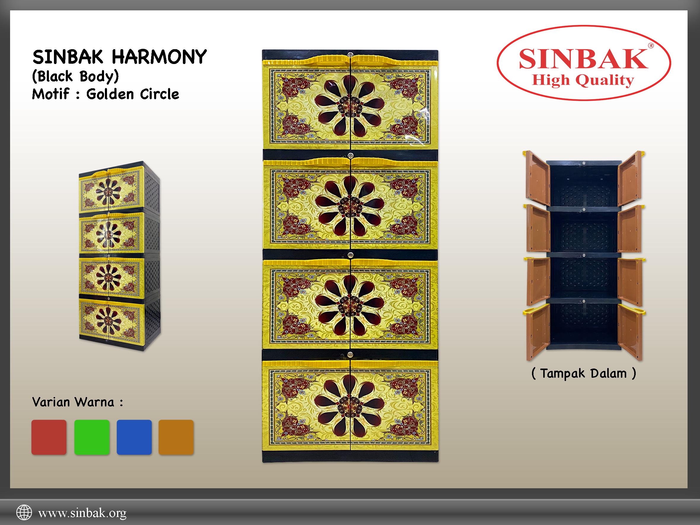 Golden Circle (Harmony Black Gold)