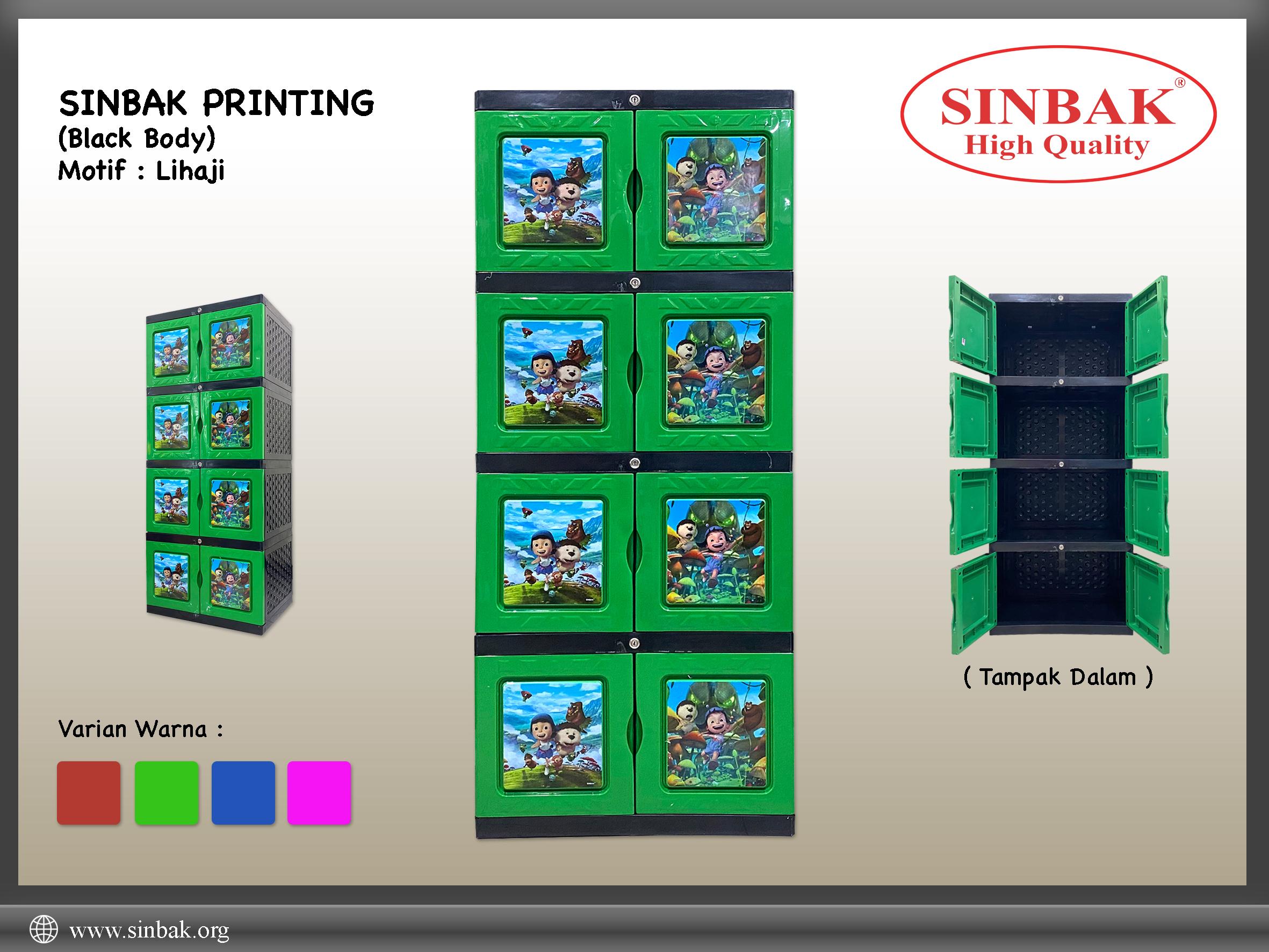 Lihaji (Printing Hijau)