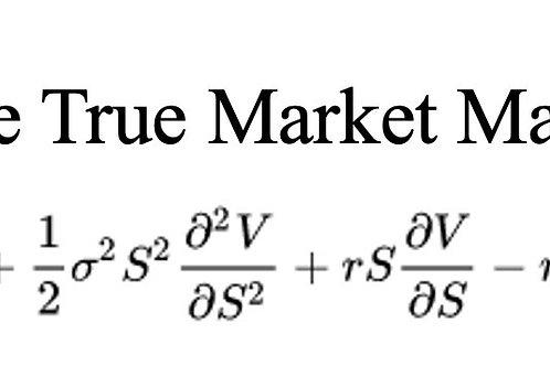 The True Market Maker
