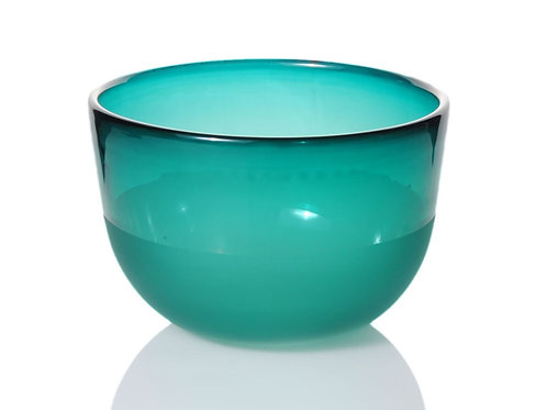 :agoon Green Glass Bowl