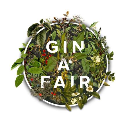 GIN A' FAIR Logo transparent