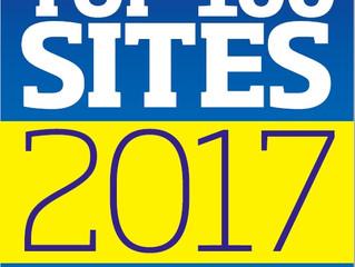 Waterrow top 100 sites finalist