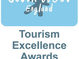Waterrow are finalists at South West Tourism of Excellence Awards