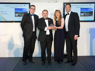 Waterrow win  Gold again at the Bath Bristol & Somerset Tourism Awards