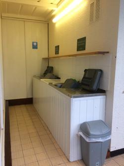Extra sink washing area