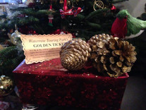 Christmas is here with our Golden ticket competition now underway