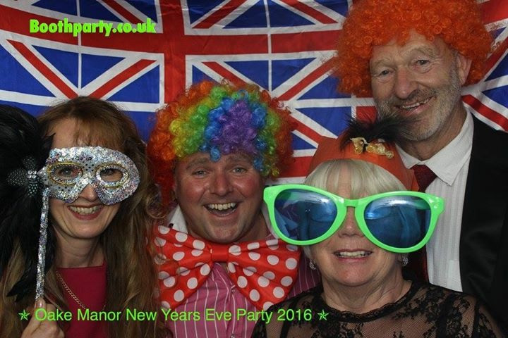 Margaret and David Dyer celebrating New Year 2017 with Lynette and Jamie Cook