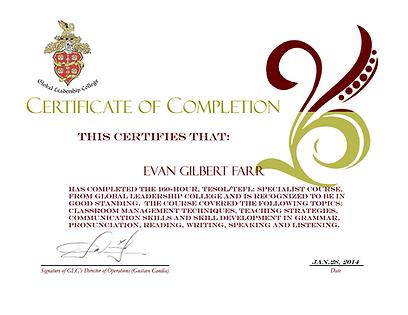 Professor Particular Certificado
