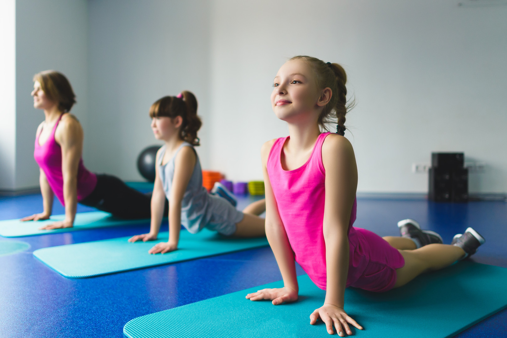 Maggie's Place After-school Enrichment, Yoga