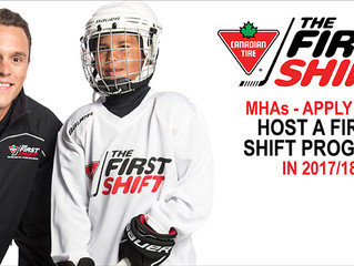 Canadian Tire First Shift Applications Open!