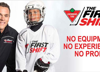 Canadian Tire First Shift Programs in the NOHA