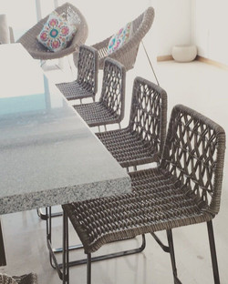 Woven benches