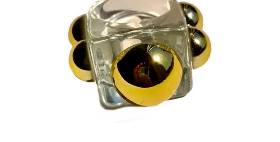 Handmade Resin Ring - Translucent