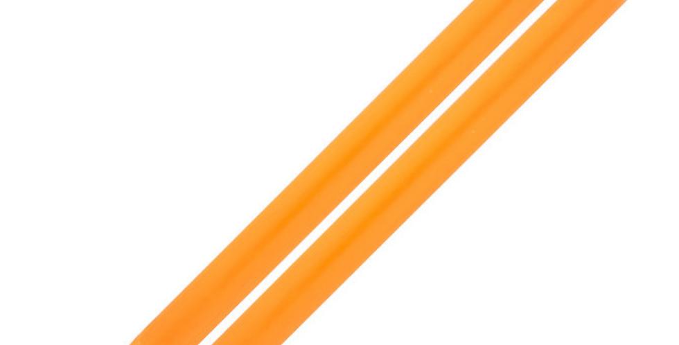 Pair of Dinner Candles - Orange