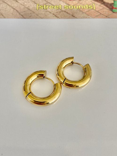 Chunky Circle Hoops