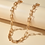 Thumbnail: Chunky Geometric Necklace - Gold